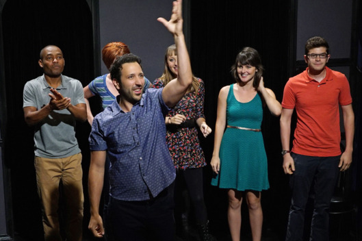 "YOU'RE THE WORST -- ""Other Things You Could Be Doing"" -- Episode 212 (Airs Wednesday, December 2, 10:30 pm e/p) Pictured: (front center) Desmin Borges as Edgar. CR: Byron Cohen/FX"