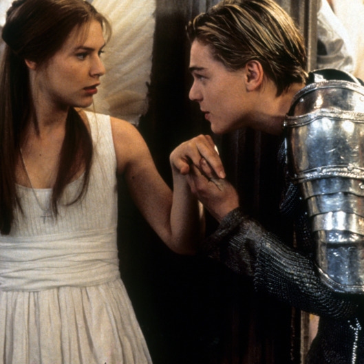 Claire Danes And Leonardo DiCaprio In 'Romeo + Juliet