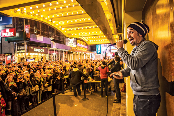 How Hamilton's Free Preshow Performance Became the Best Thing on Broadway