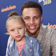 Steph & Riley Curry