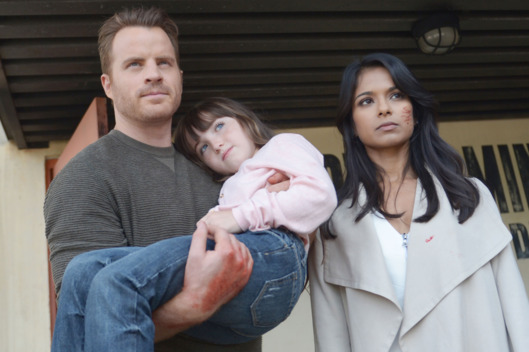 "SECOND CHANCE:  L-R:  Rob Kazinsky, guest star Kennedi Clements and Dilshad Vadsaria in the ""One More Notch"" episode of SECOND CHANCE airing Thursday, Jan. 20 (9:00-10:00 PM ET/PT) on FOX.  ©2015 Fox Broadcasting Co.  Cr:  Sergei Bachlakov/FOX"