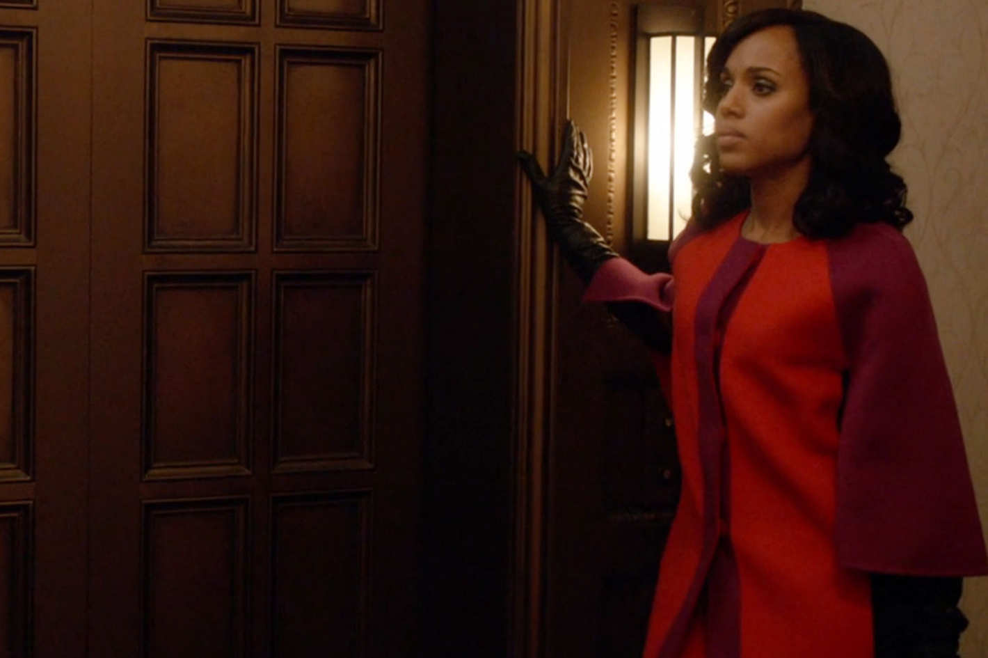 cb2fcbbb367f8 Why Olivia Pope Is Suddenly Wearing Bold Colors on Scandal