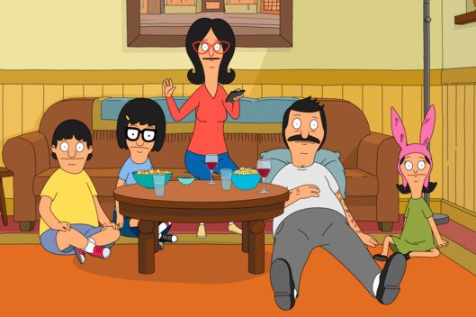 "BOB'S BURGERS: The Belchers take sides as they are forced to decide whether memories are enough to keep their family sofa in the ""Sacred Couch"" episode of BOB'S BURGERS airing Sunday, March 6 (7:30-8:00 PM ET/PT) on FOX. BOB'S BURGERS ™ and © 2016 TCFFC ALL RIGHTS RESERVED. CR: FOX"