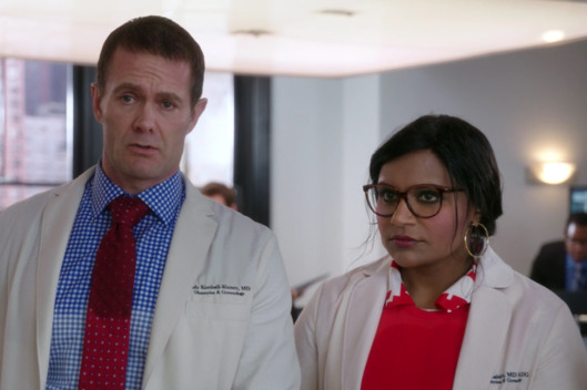 Garret Dillahunt as Jody, Mindy Kaling as Mindy.