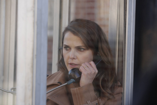 "THE AMERICANS -- ""The Magic of David Copperfield V. The Statue of Liberty Disappears"" Episode 408 (Airs, Wednesday, May 4, 10:00 pm/ep) -- Pictured: Keri Russell as Elizabeth Jennings. CR: Patrick Harbron/FX"