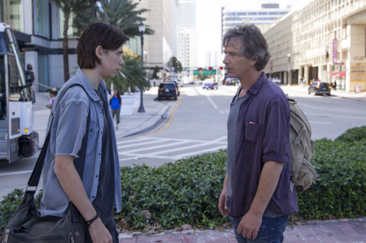 Owen Teague as Nolan, Ben Mendelsohn as Danny.