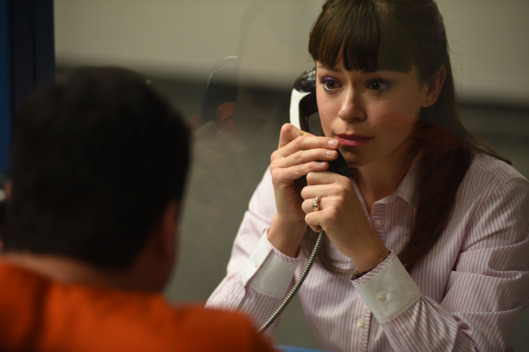 Donnie (KRISTIAN BRUUN) and Alison (TATIANA MASLANY)
