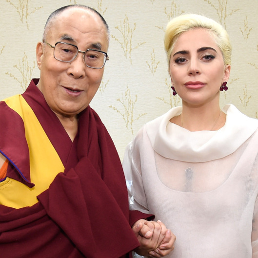 Lady Gaga Joins His Holiness the Dalai Lama to Speak to US Mayors About Kindness