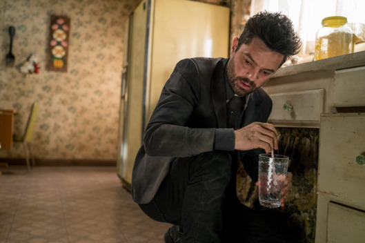 Dominic Cooper as Jesse Custer  - Preacher _ Season 1, Episode 7 - Photo Credit: Lewis Jacobs/Sony Pictures Television/AMC