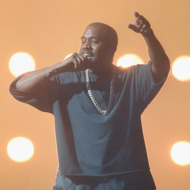 Kanye West Stopped By a Drake
