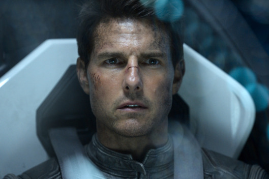 "Tom Cruise stars as Jack in ""Oblivion"" in this undated handout photo released to the media on April 18, 2013. The Universal Pictures film is playing across the U.S. Source: Universal Pictures via Bloomberg"