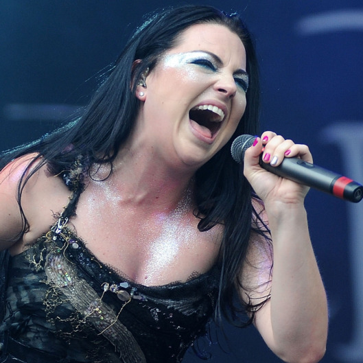 Evanescence Perform At The 2012 Heineken Jammin Festival