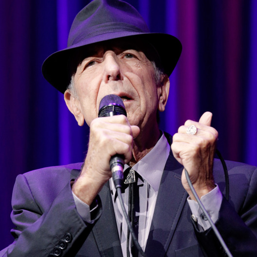 Leonard Cohen, Singer, Songwriter, Poet, Canada, performs on July 17, 2013, at O2 World, Berlin, Germany