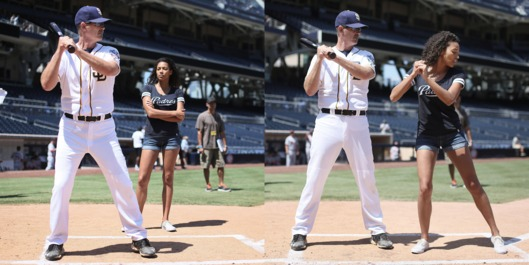 Behind the Scenes on the set of Pitch