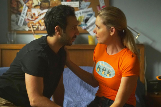 "YOU'RE THE WORST -- ""Twenty-Two"" -- Episode 305 (Airs Wednesday, September 28, 10:00 pm e/p -- Pictured: (l-r) Desmin Borges as Edgar Quintero, Collette Wolfe as Dorothy. CR: Byron Cohen/FX."