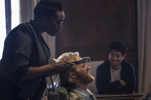 Wunmi Mosaku as Katie, Wyatt Russell as Cooper, Ken Yamamura as Saito.