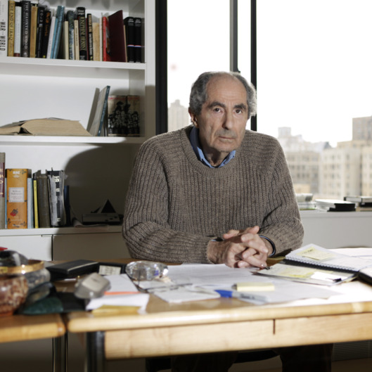 Philip Roth, Portrait Session, May 19, 2011