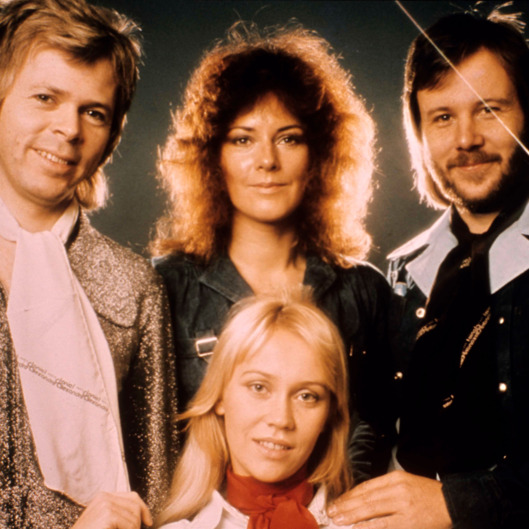 Photo of Agnetha FALTSKOG and ABBA and Bjorn ULVAEUS and Anni Frid LYNGSTAD and Benny ANDERSSON