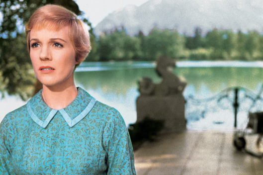 THE SOUND OF MUSIC, Julie Andrews, 1965. TM & Copyright ©20th Century Fox Film Corp. All rights