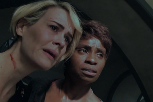 Sarah Paulson as Audrey, Adina Porter as Lee.
