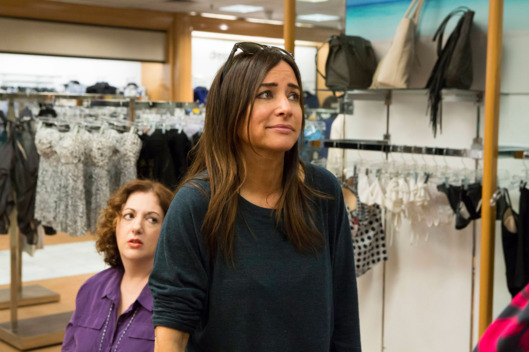 "BETTER THINGS ""Only Women Bleed"" Episode 10 (Airs Thursday, November 10, 10:00 pm/ep) -- Pictured: (l-r) Rebecca Metz as Tressa, Pamela Adlon as Sam Fox. CR: Jessica Brooks/FX"