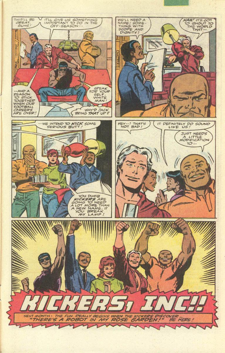 Lovely The Chaotic True Story of Kickers Inc Marvel us uTrainwreck u Football Comic