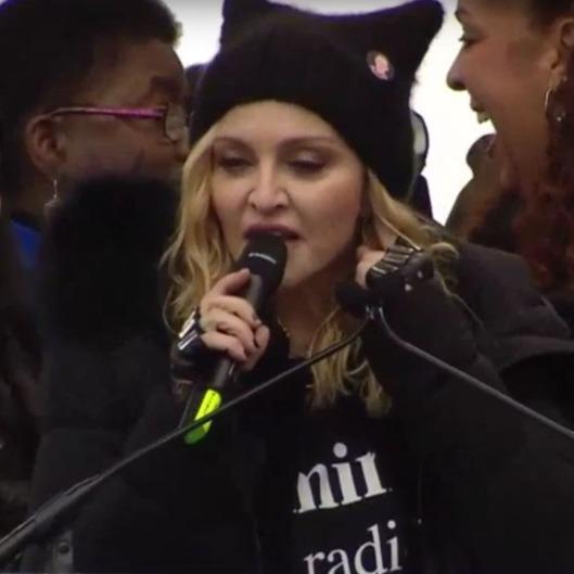 Madonna to Women's March Detractors: 'F*ck You' - Vulture