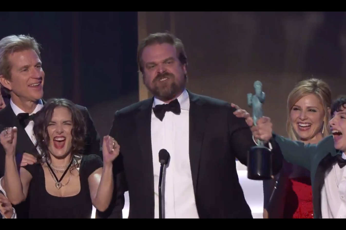 Here Are Winona Ryders 13 Best Screen Actors Guild Awards Reaction
