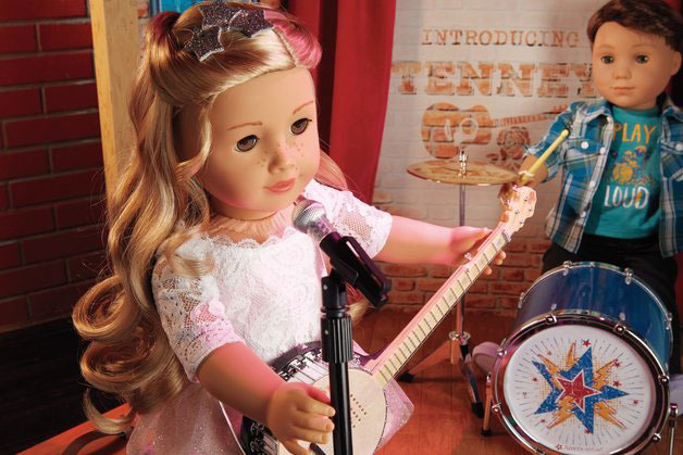 First boy doll, Logan, joins American Girl line