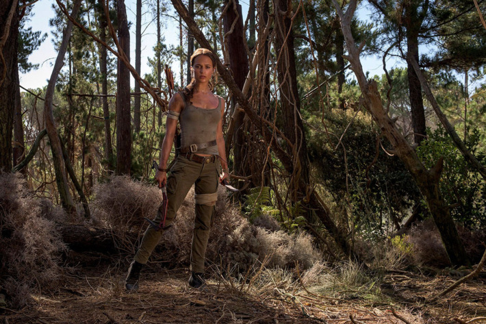 First official photos of Alicia Vikander as Lara Croft released
