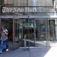 New York Times employees start a temporary strike