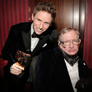 Eddie Redmayne Spoke At Stephen Hawking S Star Studded