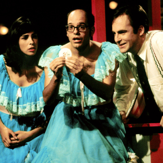 MR. SHOW WITH BOB AND DAVID, (from left): Sarah Silverman, David Cross, Bob Odenkirk, 1995-98. © Bri