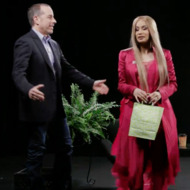 Between Two Ferns Makes Its Glorious Return with Guests Jerry Seinfeld and Cardi B