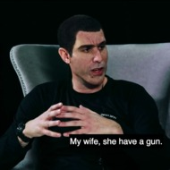 Every Time Sacha Baron Cohen Says 'My Wife' in His New Show