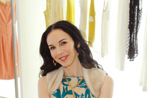 Designer L'Wren Scott attends Barneys New York Hosts LACMA For Tea With L'Wren Scott And Adam Glassman at Barneys New York Beverly Hills on November 18, 2011 in Beverly Hills, California.