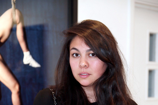 Simone Rocha attends a private view of the Nobuyoshi Araki exhibition at the Michael Hoppen Gallery on May 1, 2013 in London, England.