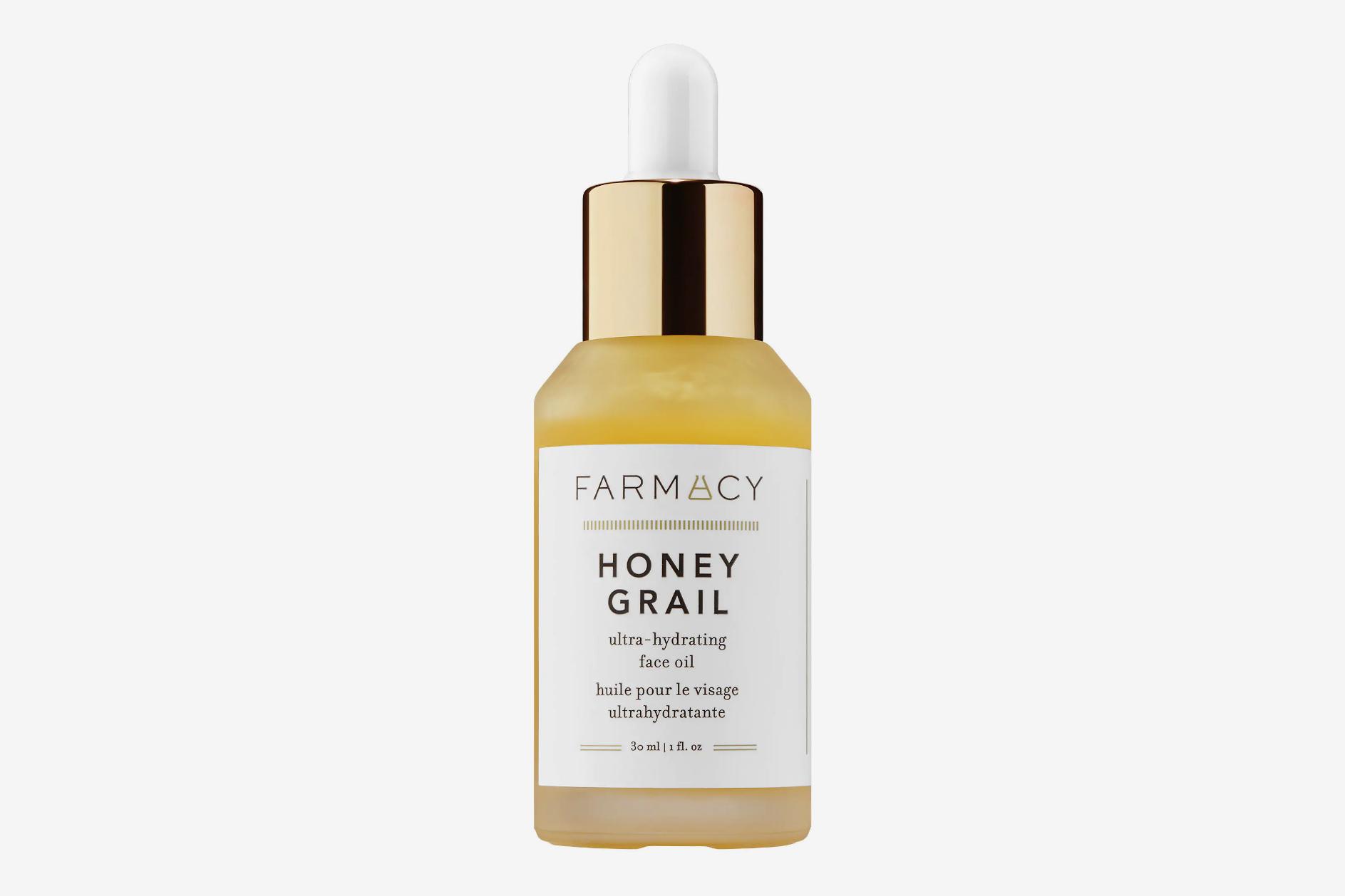 Huile de soin ultra-hydratante au miel et au graal Farmacy