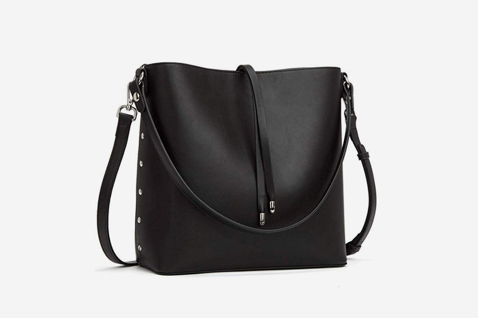 MANTOBRUCE Leather Handbag