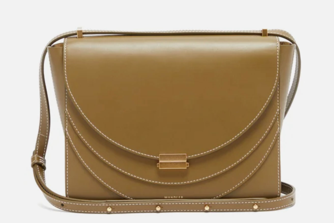 Wandler Luna Leather Crossbody Bag