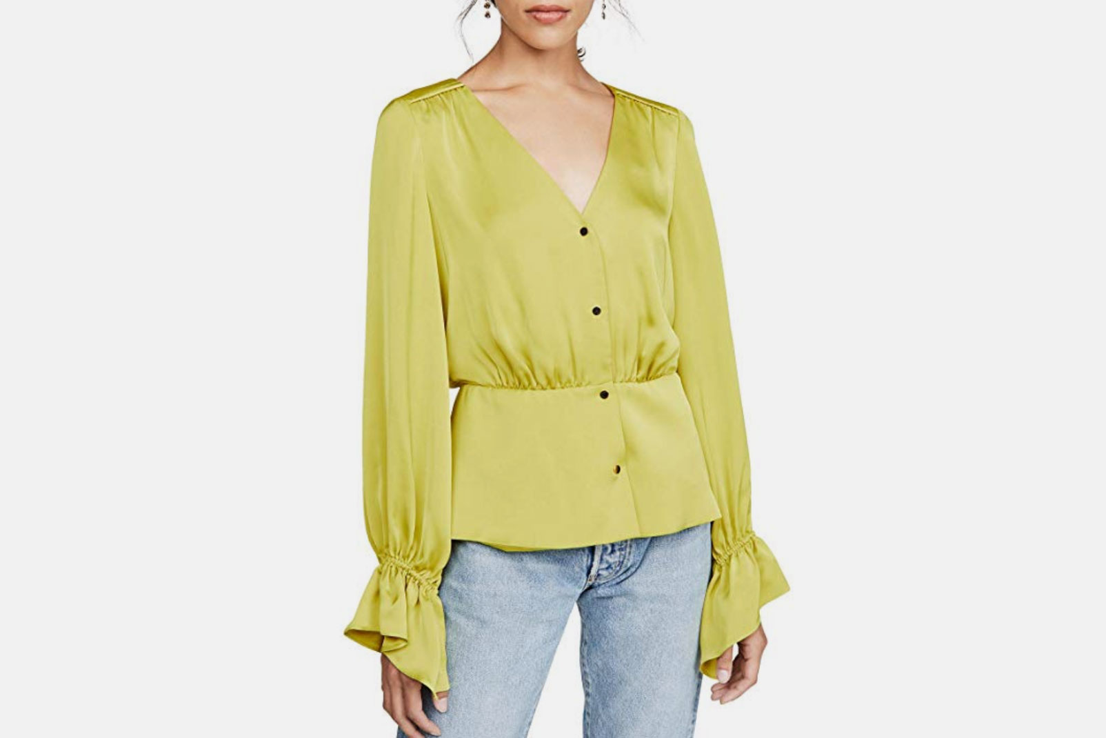 Ramy Brook Women's Karen Button Front Blouse