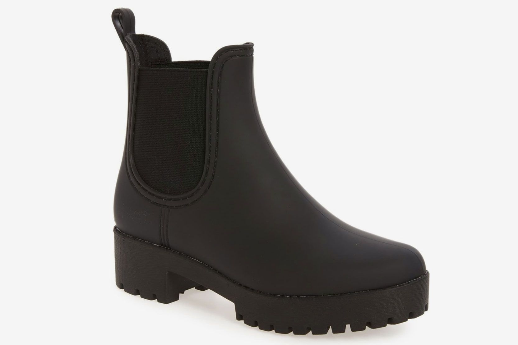 Jeffrey Campbell Cloudy Waterproof Chelsea Rain Boot