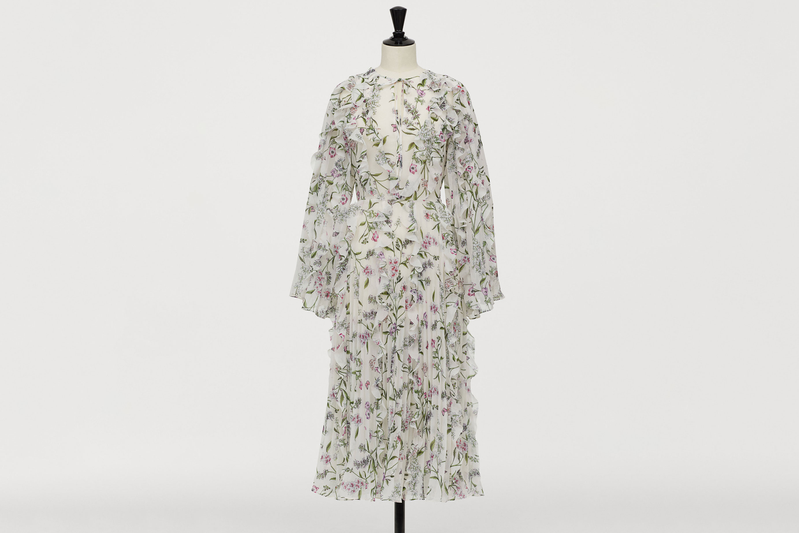 H&M x Giambattista Valli Chiffon Dress