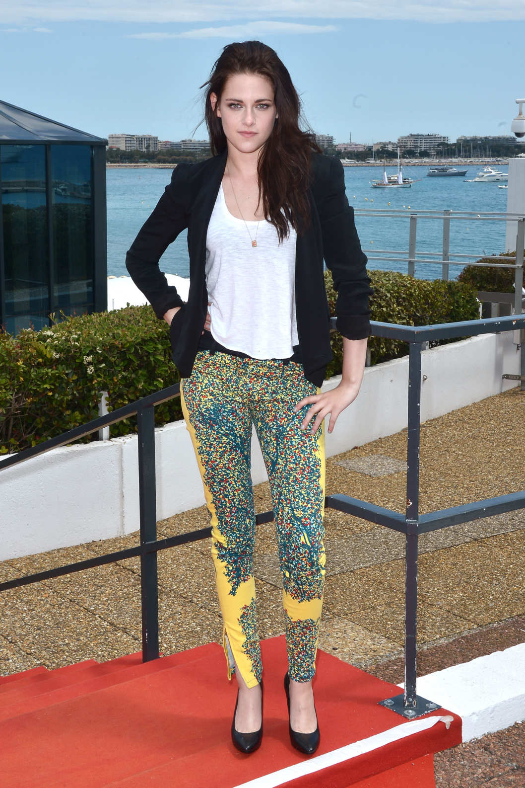 CANNES, FRANCE - MAY 23:  Actress Kristen Stewart is sighted during the 65th Cannes Film Festival 2012 at Palais des Festival on May 23, 2012 in Cannes, France.  (Photo by George Pimentel/WireImage)