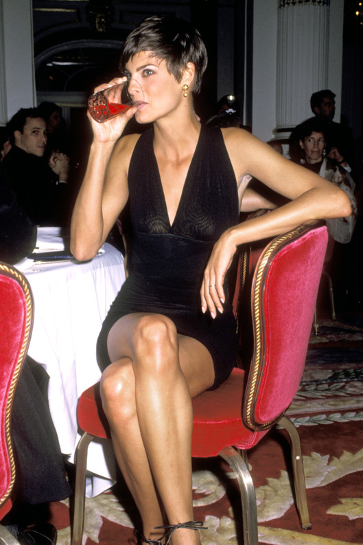 Linda Evangelista (Photo by Ron Galella/WireImage)