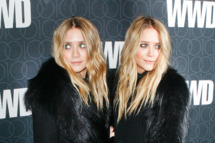 02 Nov 2010, New York City, New York State, USA --- Ashley Olsen and Mary-Kate  attends Womenís Wear Daily party celebrating its 100th anniversary / a century with an exclusive WWD @ 100 party Cipriani 42nd Street in New York City. --- Image by © Edward Le Poulin/Corbis