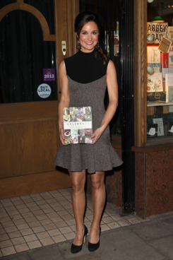 LONDON, ENGLAND - OCTOBER 25:  Pippa Middleton attends the book launch party for Pippa Middleton's 'Celebrate: A Year Of Festivities For Family and Friends' at Daunt Books on October 25, 2012 in London, England.  (Photo by Danny Martindale/Getty Images)