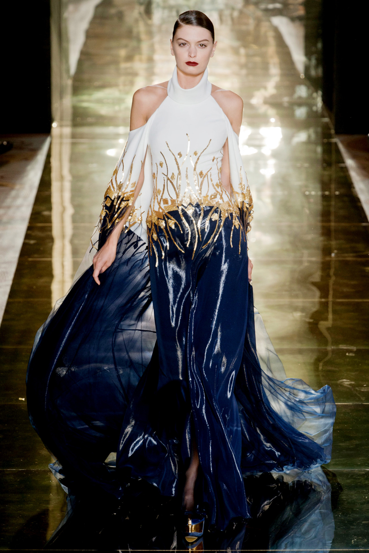 Georges Chakra Couture Fall 2012
