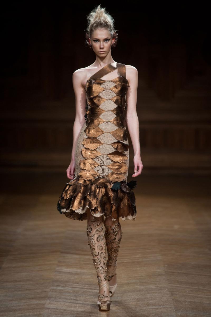 Oscar Carvallo - Fall 2013 Couture