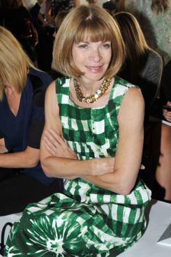 Anna Wintour== REED KRAKOFF Spring 2013== 500 W. 36th, NYC== September 12, 2012== ?Patrick McMullan== Photo - Leandro Justen/PatrickMcMullan.com== ==